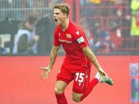 潇洒挑球+暴力远射!柏林联合前锋开场一分钟上演秒射破门