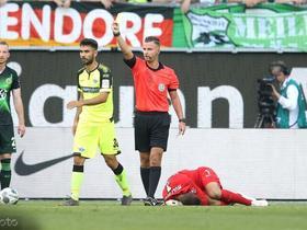 官方:沃尔夫斯堡门将卡斯特尔斯小腿受伤,将缺席数周