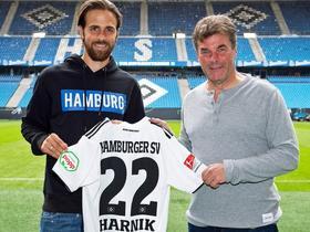 官方:汉堡租借云达不莱梅前锋哈尼克