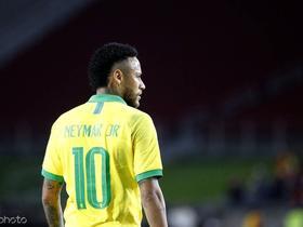巴西国家队新一期大名单:内马尔领衔,帕奎塔入选