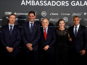 西甲成立90周年,古蒂、耶罗等四人加入西甲大使队