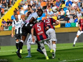 比赛集锦:乌迪内斯 1-0 博洛尼亚