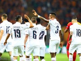 巴黎圣日耳曼对阵昂热大名单:内马尔领衔,姆巴佩缺席