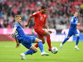 半场战报:拜仁0-0霍芬海姆,格纳布里进球被吹