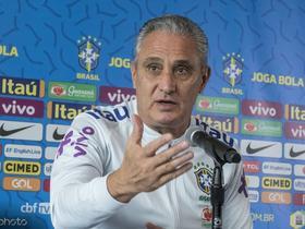 巴西与尼日利亚的赛前,主帅蒂特确认内马尔没有问题