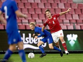 战卢森堡,里昂后卫安德森终于为丹麦队上演处子秀