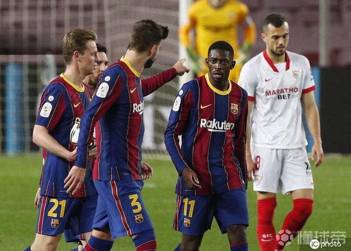 记者:巴塞罗那有信心与登贝莱续约
